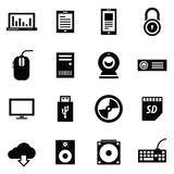 Simplus series icon set Stock Images