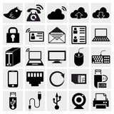 Simplus serii ikony set Fotografia Stock