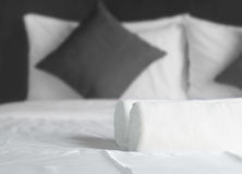 Simply bedroom Royalty Free Stock Images