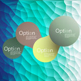 Simply infographic step by step template Royalty Free Stock Image