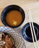 Simply Japanese Set. Simply Japanese foods stock photo