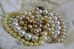 Simply pearls Royalty Free Stock Image