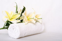 Simply spa Royalty Free Stock Photography