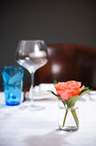 Simply table decoration Stock Photos