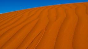 Simpson沙漠-在内地澳洲 库存照片