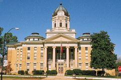 Simpson County Courthouse. In Mississippi, USA Royalty Free Stock Photography