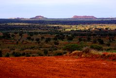 Simpson Desert, Rainy Season Royalty Free Stock Photos