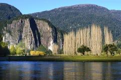 Simpson River Valley Fotografia de Stock