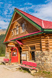 Simpson's Trading Post at Num-Ti-Jah Lodge. Bow Lake and Glacier stop, Banff National Park, Alberta, Canada Royalty Free Stock Images