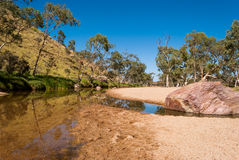 Simpsons Gap, MacDonnell Ranges, Australia Royalty Free Stock Images
