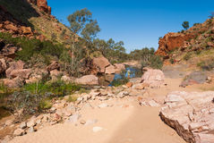 Simpsons Gap, MacDonnell Ranges, Australia Stock Image