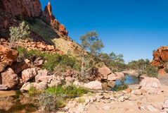 Simpsons Gap, MacDonnell Ranges, Australia Stock Photos