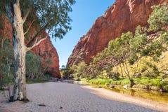 Simpsons Gap, MacDonnell Ranges, Australia Royalty Free Stock Image