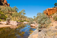 Simpsons Gap, Northen Territory. Australia Royalty Free Stock Image
