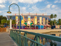 The Simpsons ride at  Universal Studios Florida Royalty Free Stock Photo