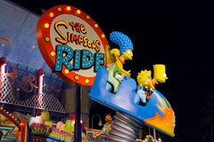 The Simpsons Ride Stock Images