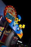 The Simpsons Ride Royalty Free Stock Image