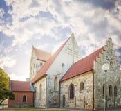 Simrishamn church Stock Images