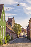 Simrishamn street Royalty Free Stock Images