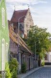 Simrishamn Street Scene Stock Images