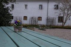Simrishamn tour of the old town Stock Image