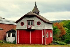 Simsbury, CT : Garage 1885 Images stock