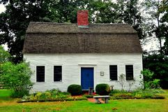 Simsbury, CT : Hendrick House 1795 Photographie stock libre de droits
