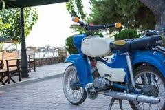 Simson oldtimer motorcycle Royalty Free Stock Photos