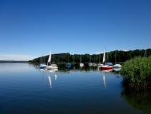 Simssee озера, Бавария, Германия стоковые изображения