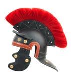 Simulación de un casco romano del centurión Foto de archivo