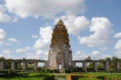 Simulación imponente del castillo fotografía de archivo