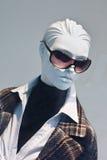 Simulacre d'une boutique de luxe de mode, Pékin, Chine Photographie stock
