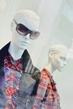 Simulacre d'une boutique de luxe de mode, Pékin, Chine Photographie stock libre de droits