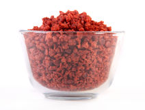 simulated bacon bits Royalty Free Stock Images