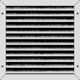 SImulated a/c vent. Illustration of air conditioning vent Stock Photos