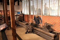 Simulated display of the Glover Machine Works Stock Photography