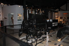 Simulated display of the Glover Machine Works Stock Images