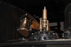 Simulated display of the Glover Machine Works Stock Photo