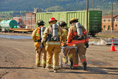 LaGrande HazMat Stock Images