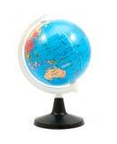 Simulated world. Isolated on white background Royalty Free Stock Photos