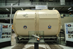 Simulateur de laboratoire d'espace de DLR Images stock