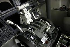 Simulateur de poste de pilotage Images libres de droits