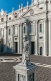 Simulatie van de stad van Vatikaan Stock Fotografie