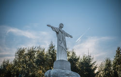 Simulatie van het standbeeld van Jesus-Christus Stock Fotografie