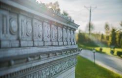 Simulation of Arc de triomphe closeup Royalty Free Stock Photography