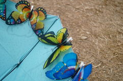 Simulation Butterfly Royalty Free Stock Photos