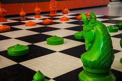 Simulation chess Stock Photography