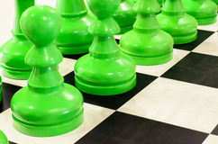 Simulation chess Royalty Free Stock Photo