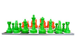 Simulation chess Royalty Free Stock Image