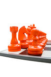 Simulation chess Royalty Free Stock Photography